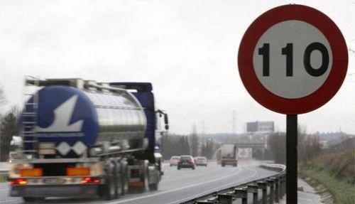 La nueva ley: Autopistas y Autovías a 110 km/h
