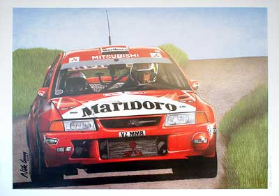 Historia del Mitsubishi Lancer Evolution WRC 2ª parte