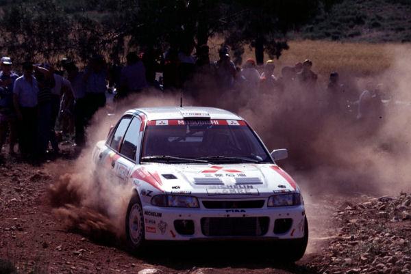 Historia del Mitsubishi Lancer Evolution WRC