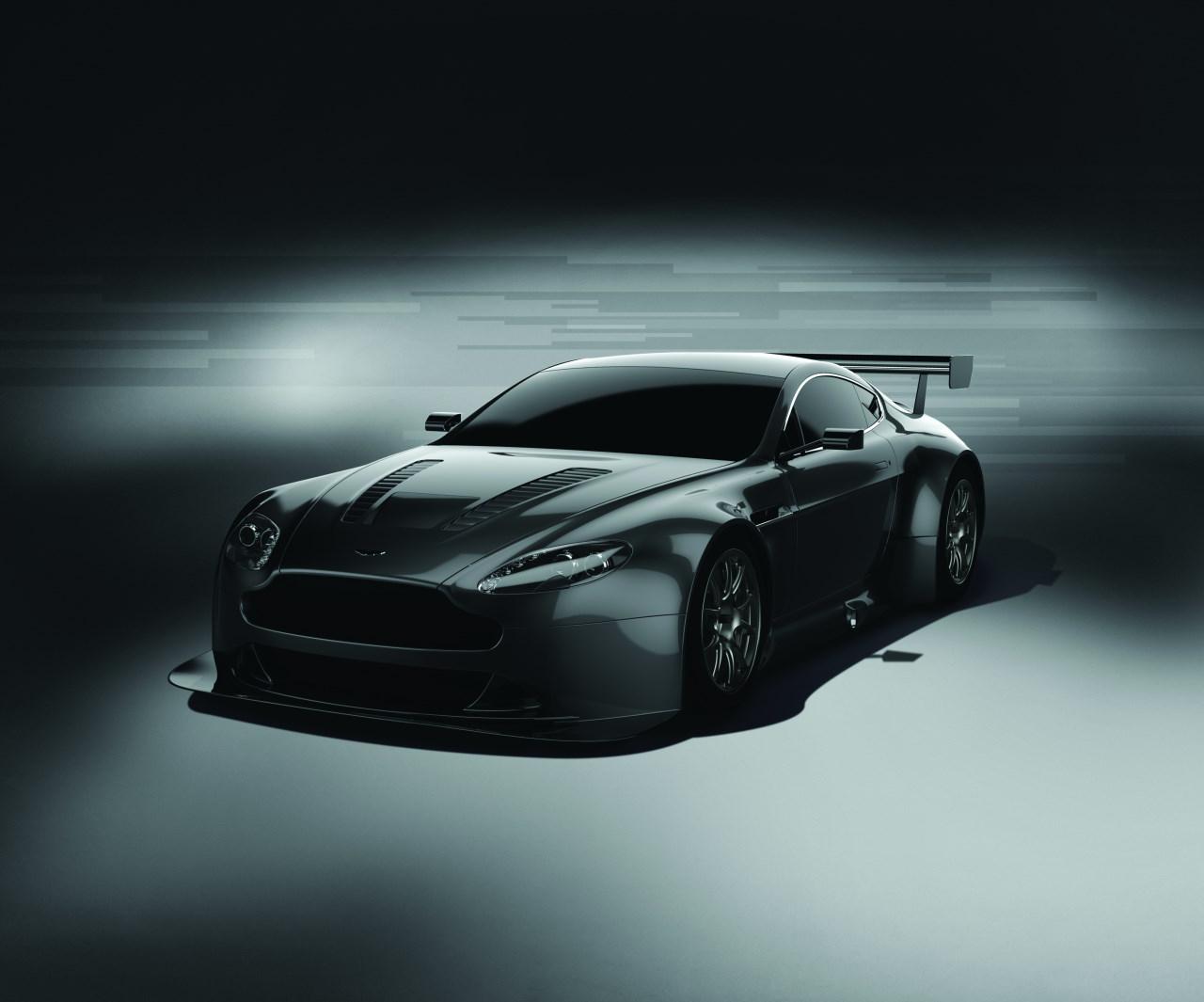 Aston Martin se prepara para GT3: Vantage V12 GT3