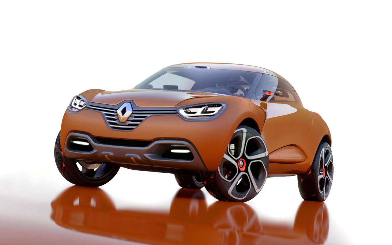 El Renault Captur podría ser el padre de tres nuevos SUV