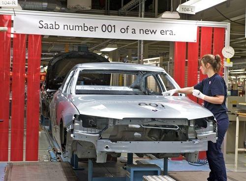 Saab recibe ayuda desde China