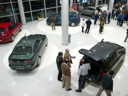 Aumenta un 40% en España la venta de automóviles