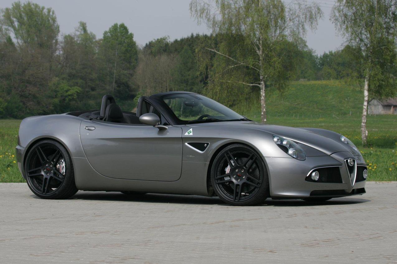 Novitec retoca el Alfa Romeo 8C Spyder