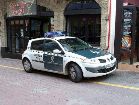 Pillan al jefe de la Guardia Civil de Soria a 207 km/h