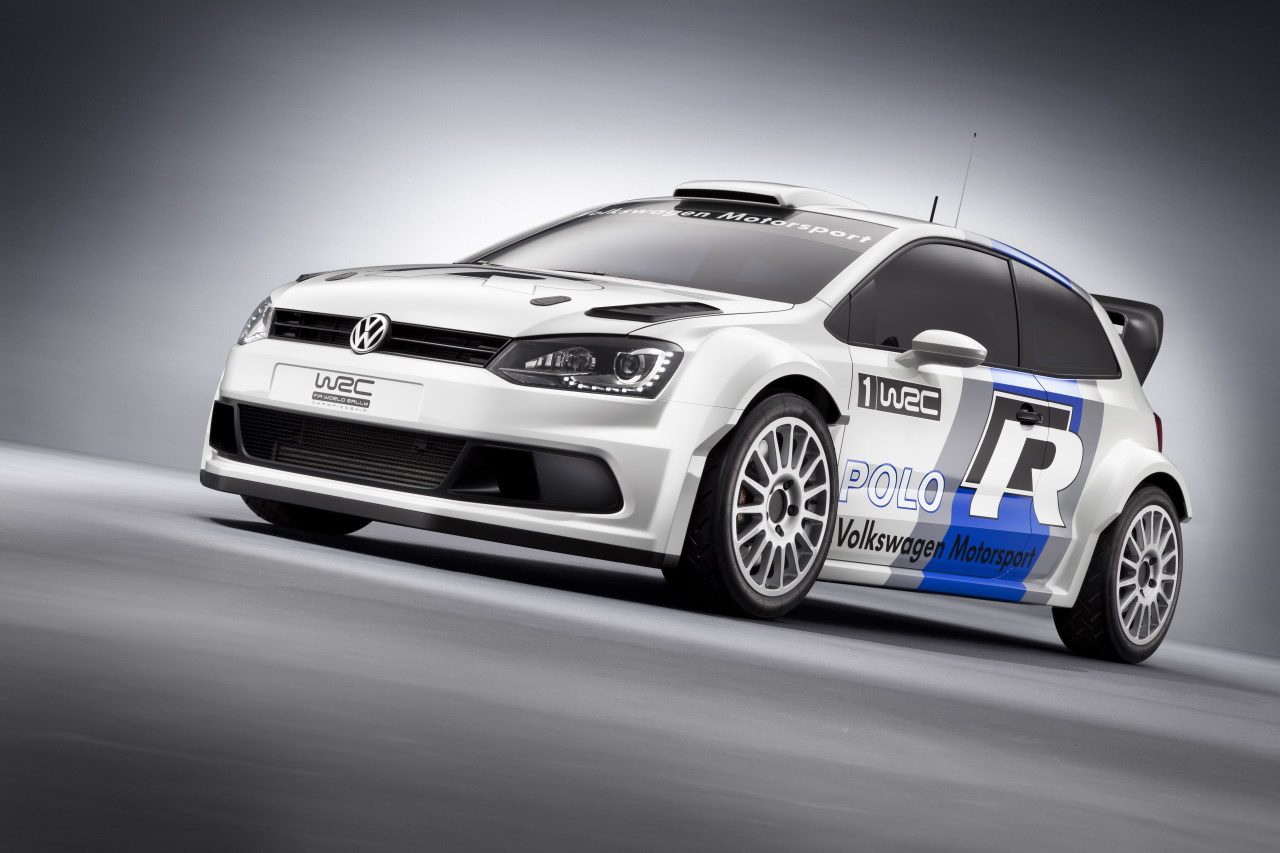 Así rueda el nuevo Polo R WRC
