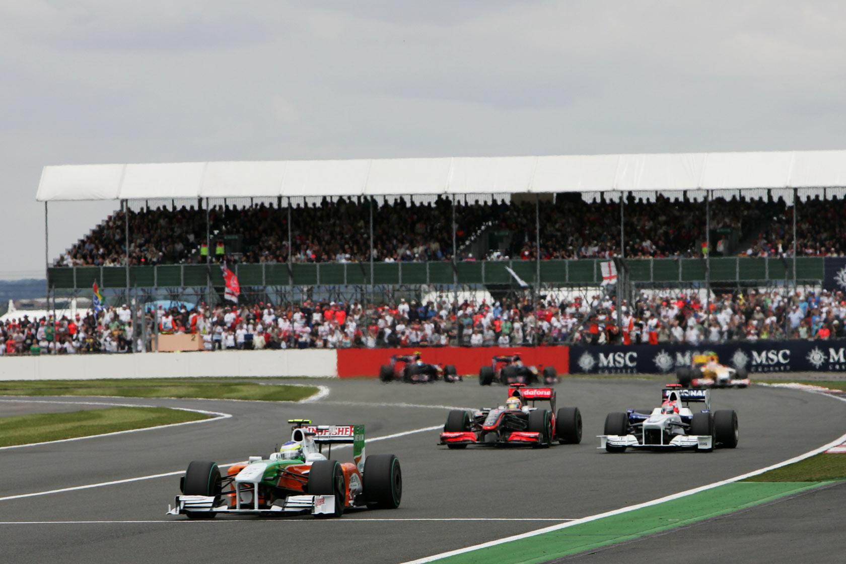 Los circuitos de la F1 en 2012.