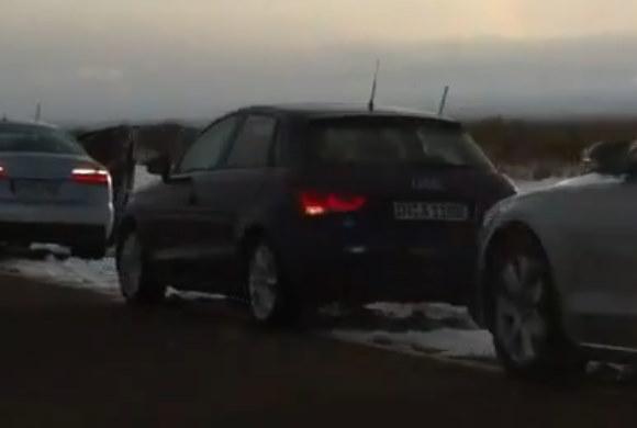 Cazados el futuro A1 Sportback y el S6 de pruebas en ¡Extremadura!