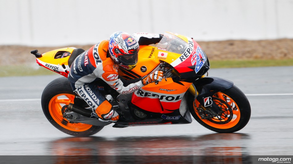 Actualidad MotoGP: Stoner y Lorenzo lideran los 3 libres
