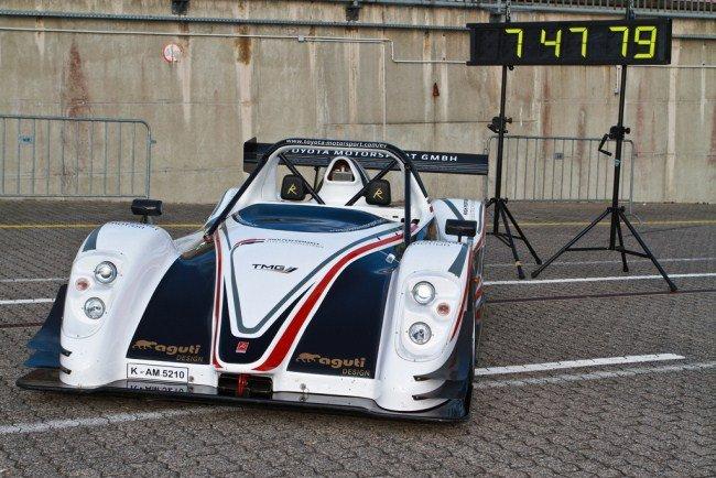 Toyota afeita el tiempo de Nürburgring para los eléctricos