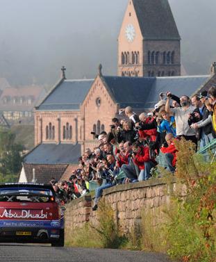 Rally Alsacia 2011: Loeb y Ogier lideran el shakedown