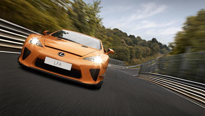 Nuevo Lexus LFA en colaboración con BMW