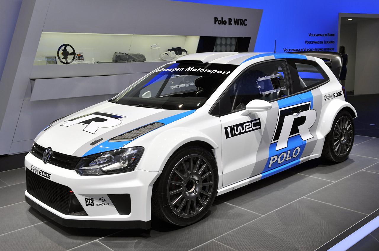 El Volkswagen Polo R WRC va tomando forma