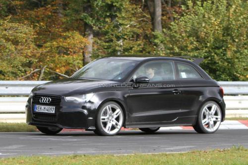 El Audi RS1 aparece por Nürburgring