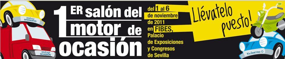Arranca el primer Salón del Motor de Ocasión en Sevilla