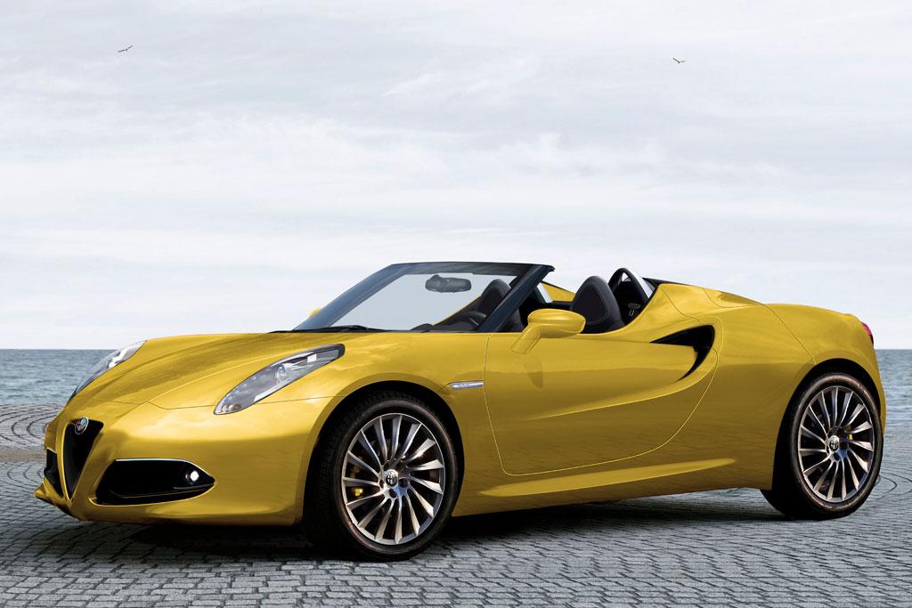 ¿Habrá Alfa Romeo 4c Spyder?