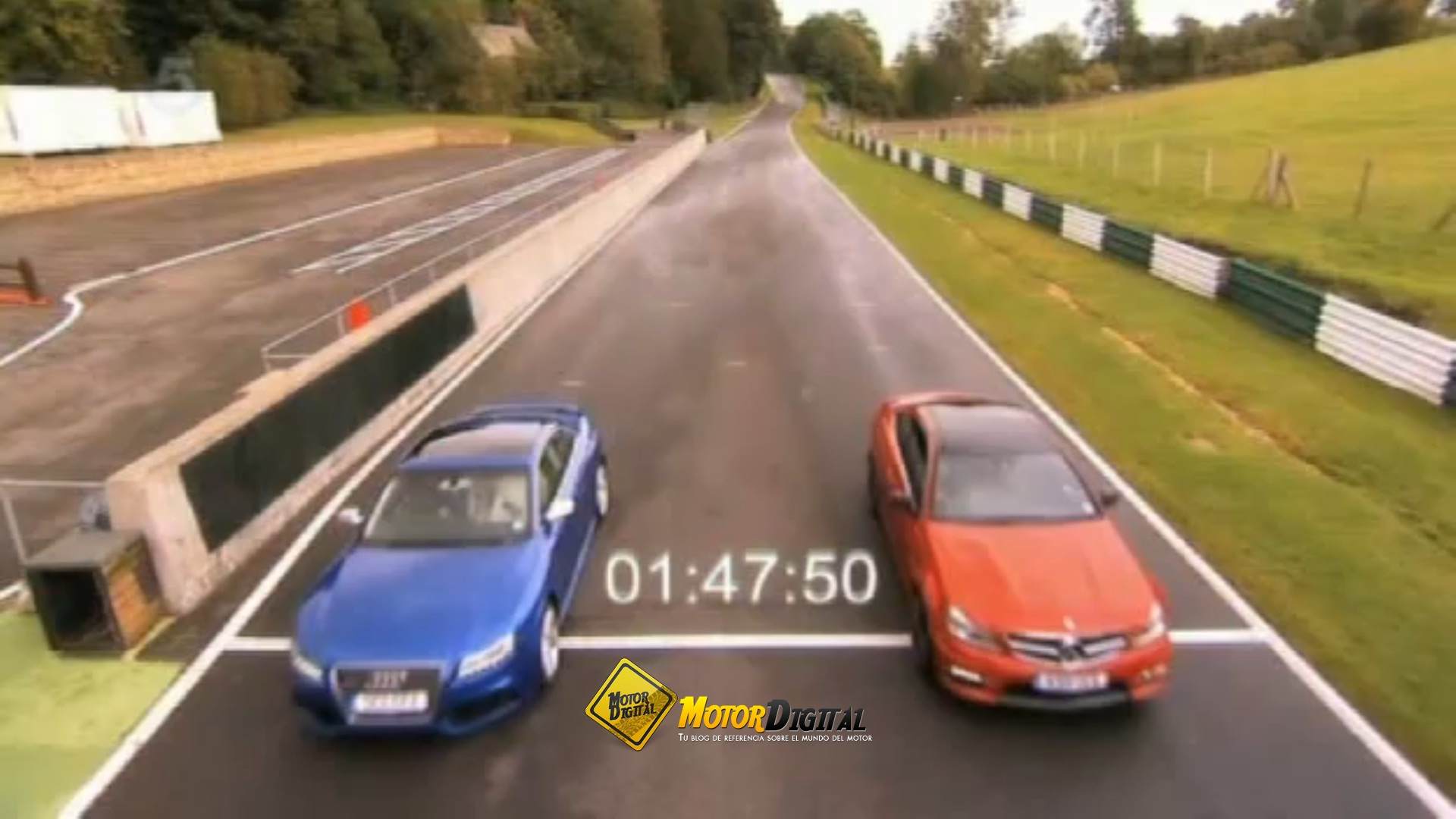 Fifth Gear compara al RS5 y al C63 AMG Coupé en circuito