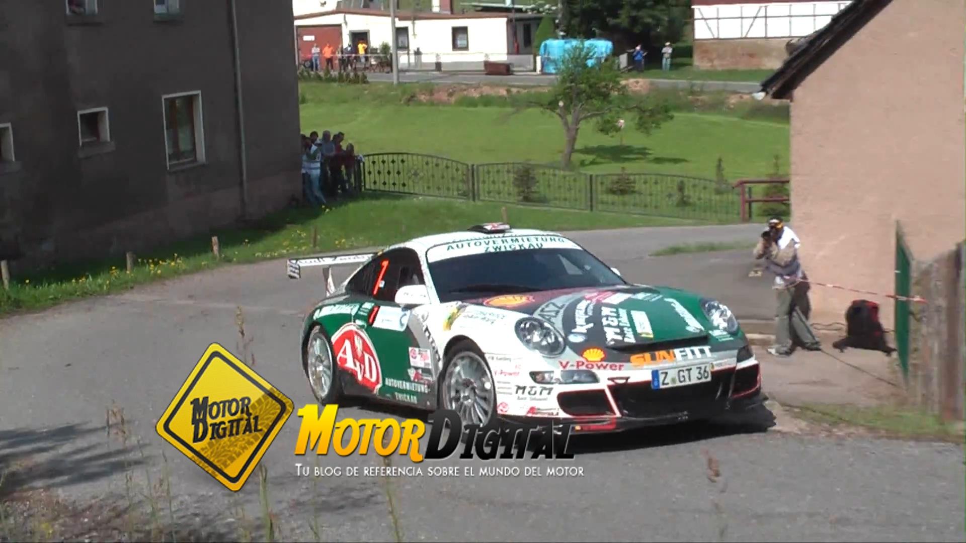 Porsche 911 GT3 de rally