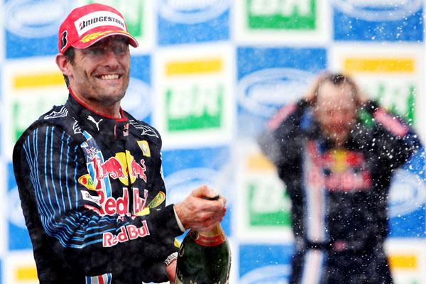 Gran Premio Brasil 2011: Webber gana y Red Bull hace doblete