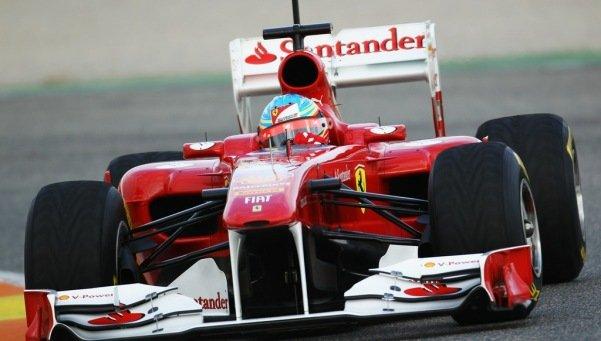 La escuderia Ferrari también nos felicita la navidad