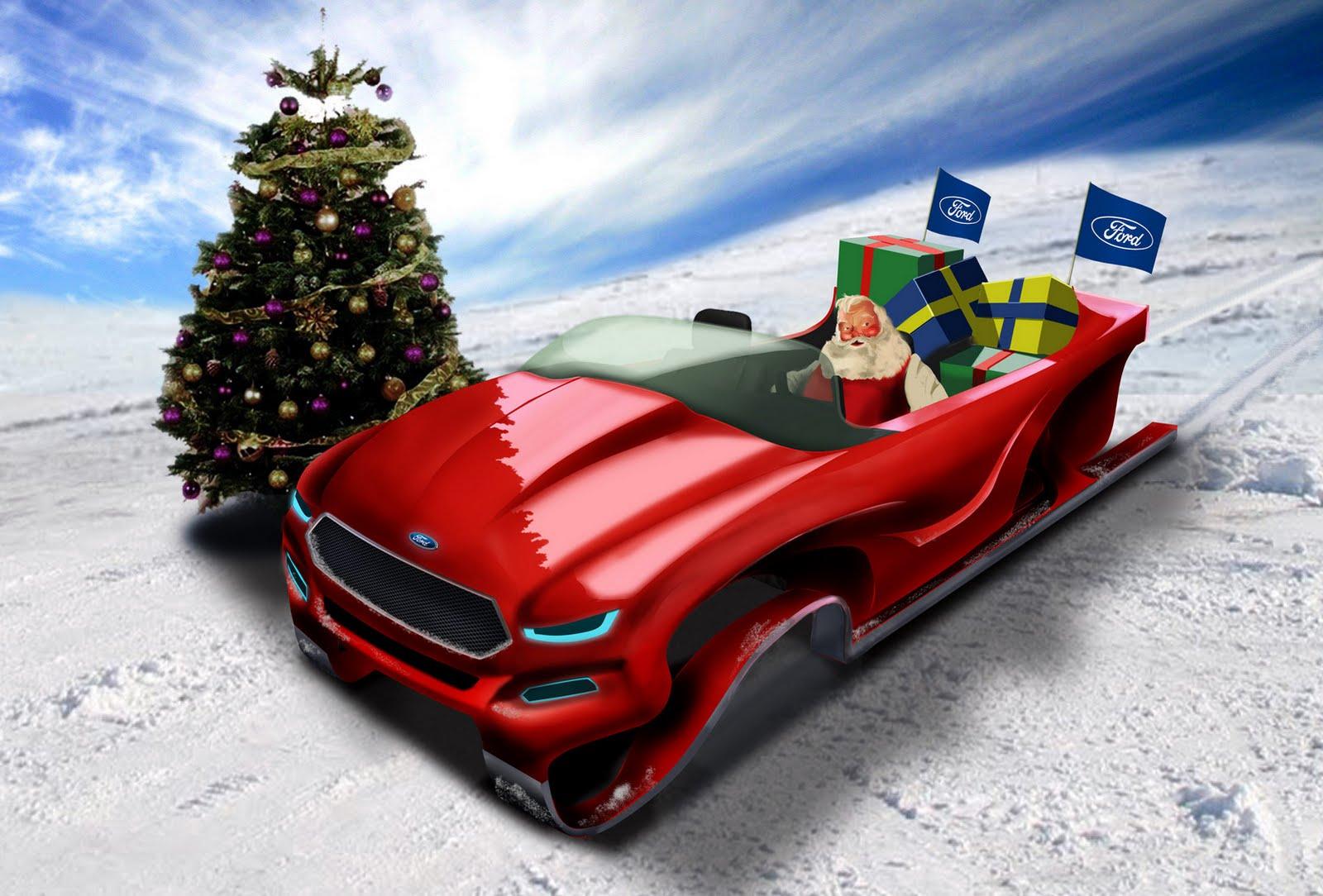 Ford diseña un nuevo trineo para Santa Claus