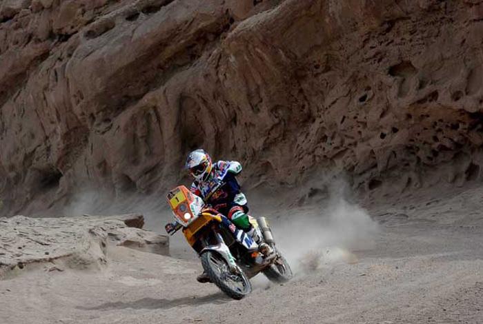Dakar 2012: Coma gana y empieza su particular remontada