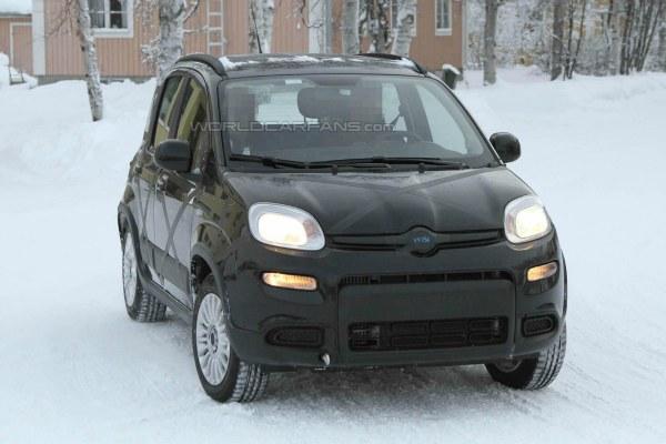 Fiat Panda 4×4 2013 al descubierto