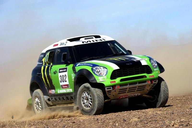 Dakar 2012: Nasser vence hoy, Peterhansel lidera la general