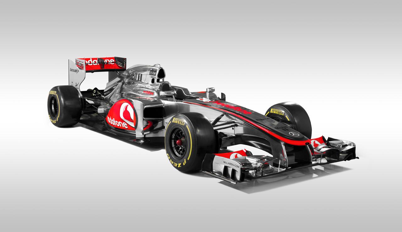 McLaren se adelanta al resto y presenta el MP4-27