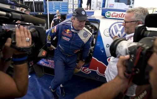Carlos Sainz no descarta volver de nuevo al Dakar