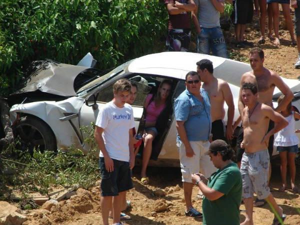 El GT-R se come un Polo bajo el calor abrasador de Brasil
