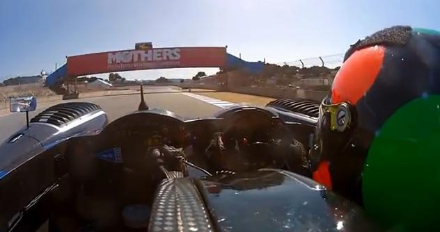 """GoPro nos da una """"vueltecita"""" en un coche de American Le Mans Series"""
