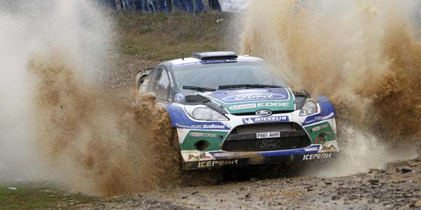 Rally de Argentina 2012: Loeb comienza líder, Sordo es tercero