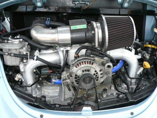 ¿Un Volkswagen Beetle con el motor de un Subaru WRX STI?