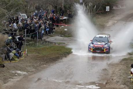 Rally de Argentina 2012: Loeb líder, Sordo solo ante los Citroën