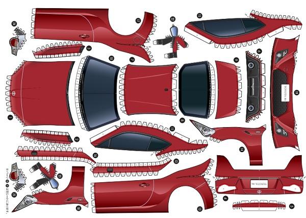 Hazte tu propio Toyota GT86 en casa