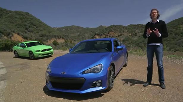 MotorTrend enfrenta al Ford Mustang V6 con el Subaru BRZ