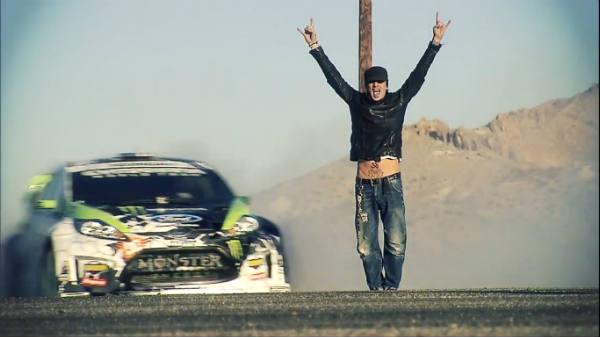 Ken Block da un paseito a Tommy Lee