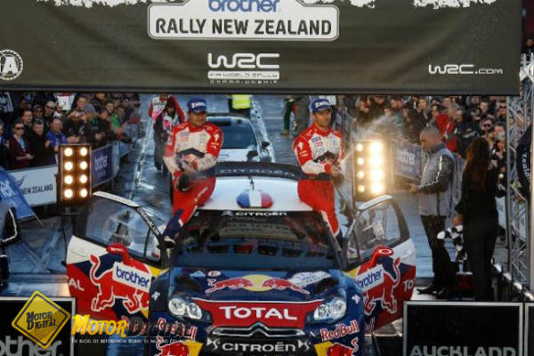 Loeb vence en Nueva Zelanda