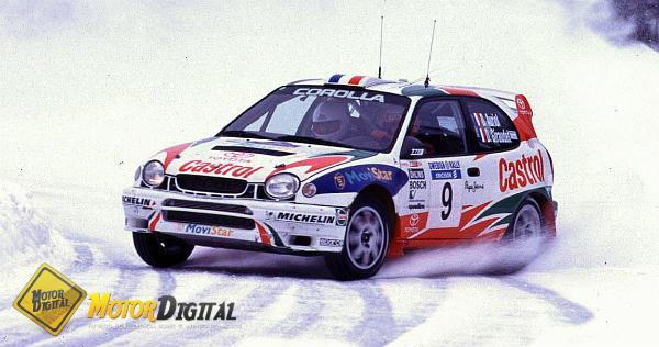 Toyota vuelve al mundial de rallyes