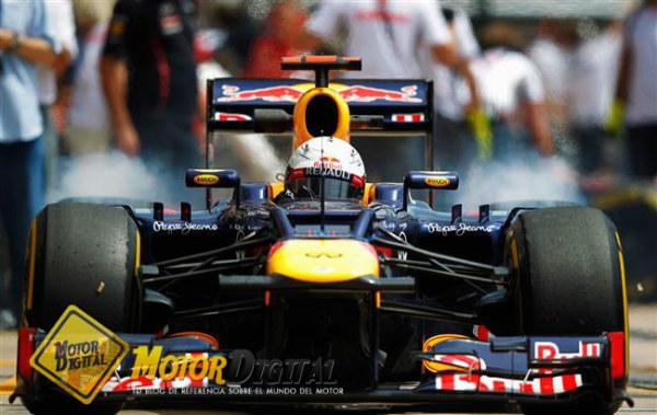 Vettel con mano de hierro consigue la pole en Valencia