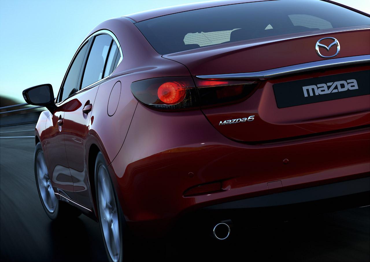 Mazda destapa por completo al nuevo 6