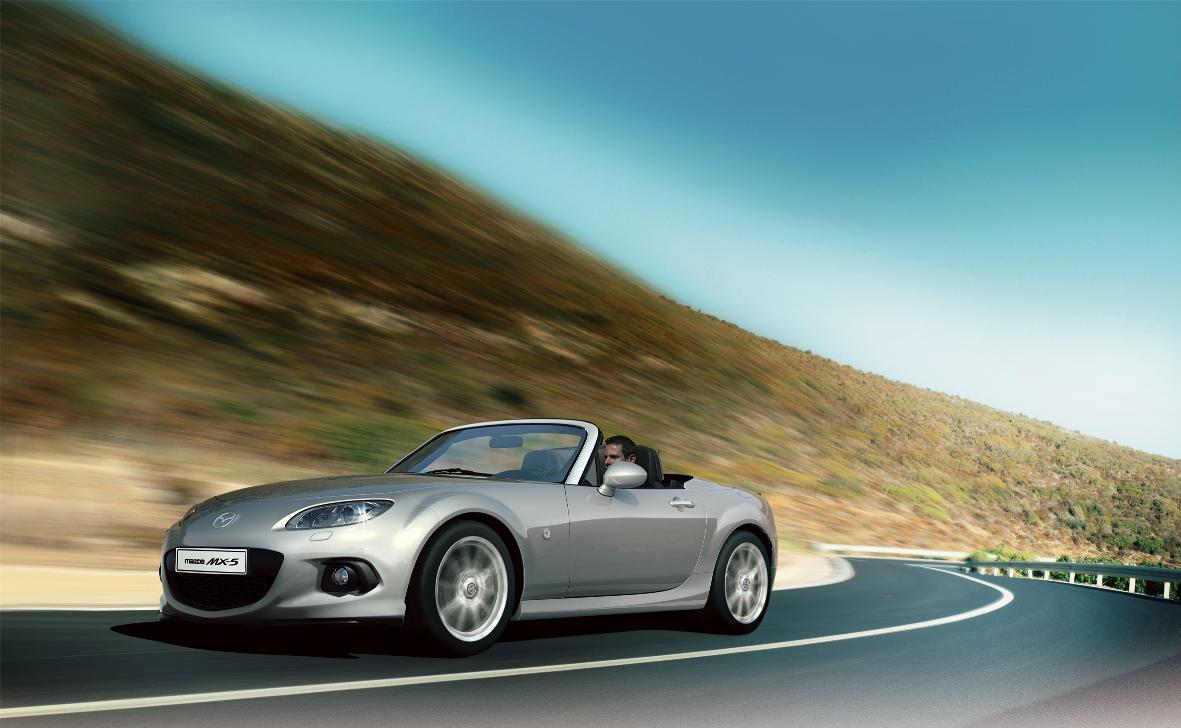 Ligeras actualizaciones para el Mazda MX-5