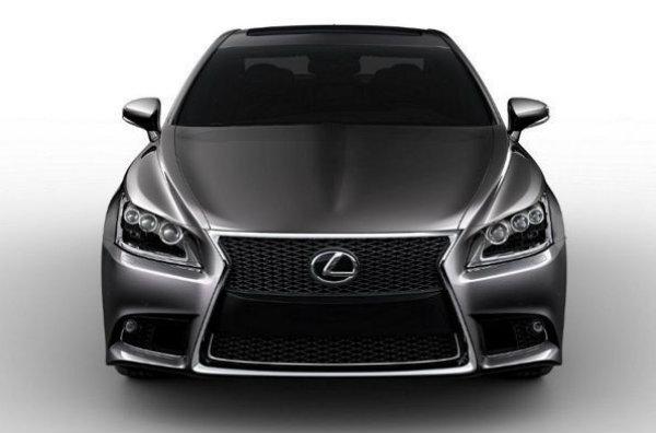 Filtrado el nuevo Lexus LS F