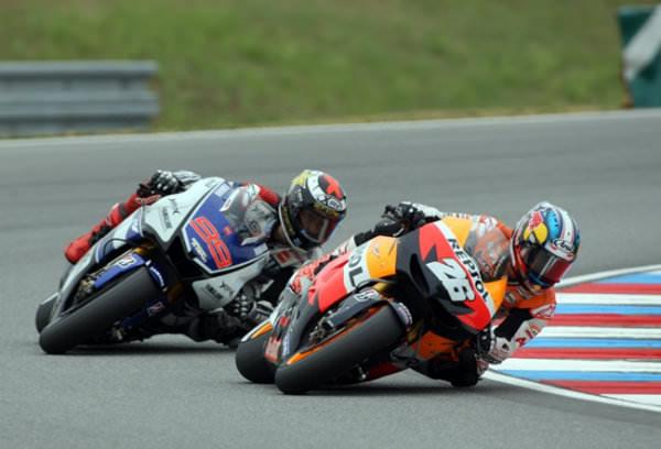 Mundial Motociclismo República Checa 2012: Pedrosa y Lorenzo amenizan el mundial