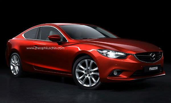 ¿Cómo quedaría el nuevo Mazda 6 en carrocería coupé?