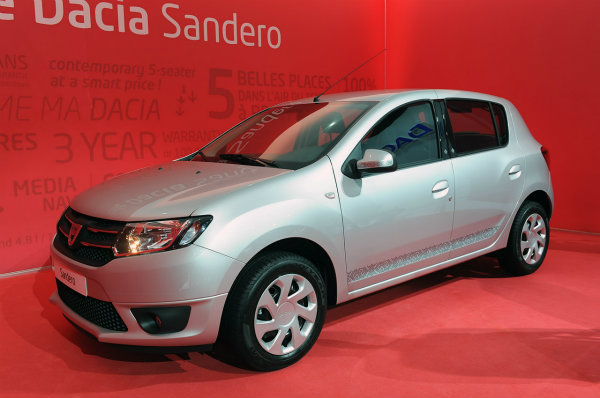París 2012: Dacia Sandero 2013