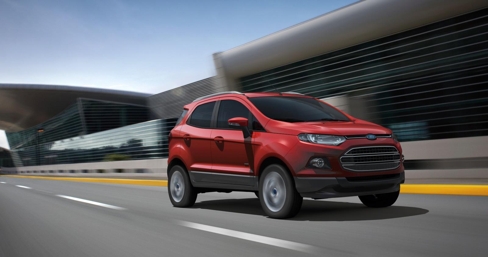 El Ford Mustang, EcoSport y Edge se comercializarán en Europa