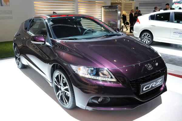 París 2012: El Honda CR-Z coge algo más de chispa