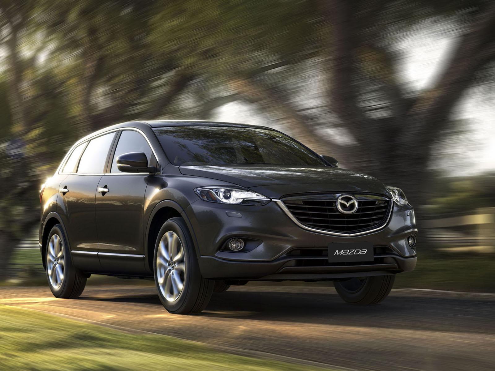 El Mazda CX-9 se somete a un pequeño cambio de imagen